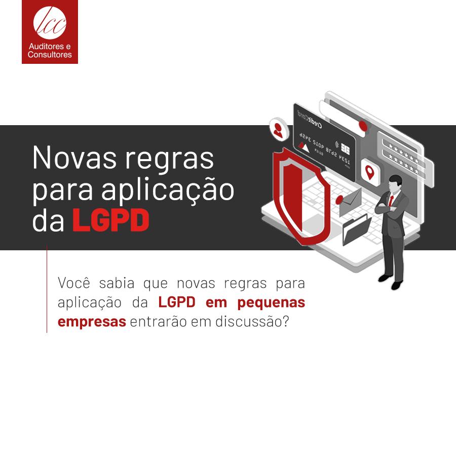 Novas regras para pequenas empresas aplicarem a LGPD entram em consulta pública